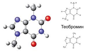 Химическа формула на теобромин